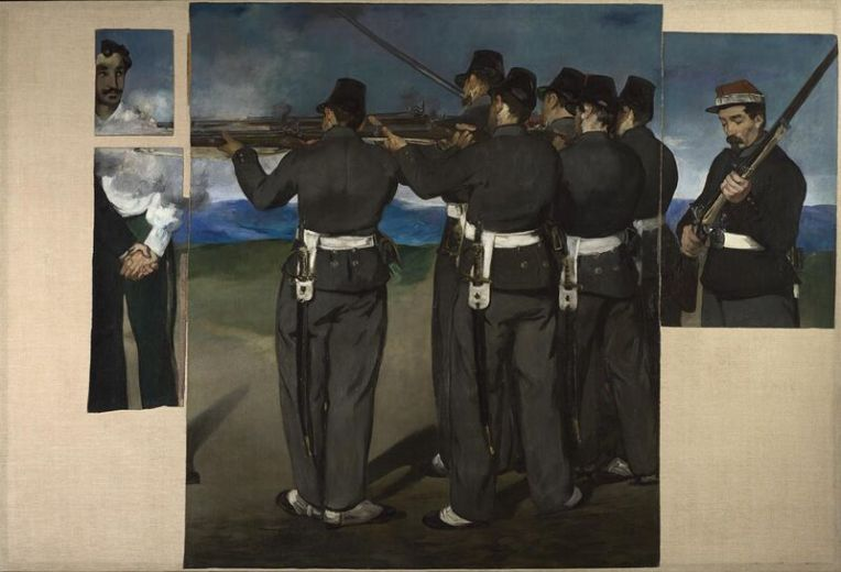 execution of Maximiilion - Manet